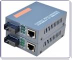 Комплект TX+RX медиаконвертеров 1Gbit (1000 Mbit), Tx/Rx: 1550/1310нм + Tx/Rx: 1310/1550нм